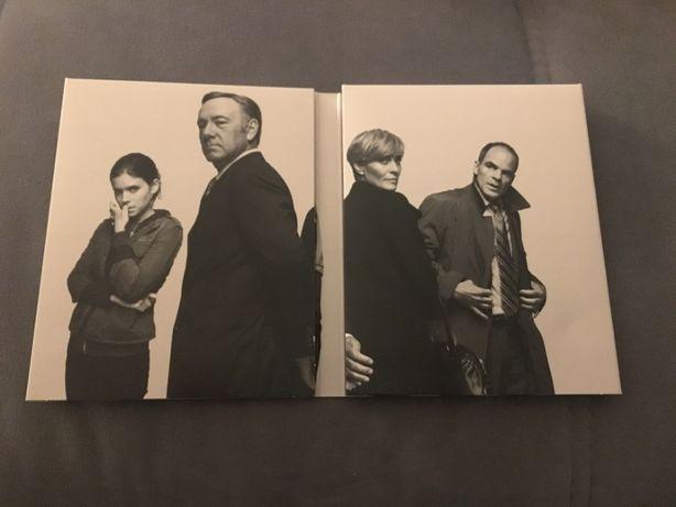 House of Cards 1ª Temp. (BluRay)    Edição Especial + 2ª Temp (DVD)
