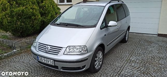Volkswagen Sharan Sharan 2005 1,8 benzyna automat