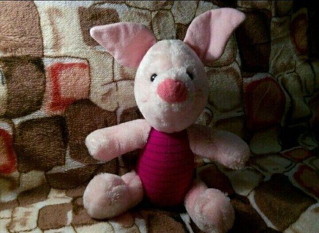 Мягкая игрушка свинка пяточёк
