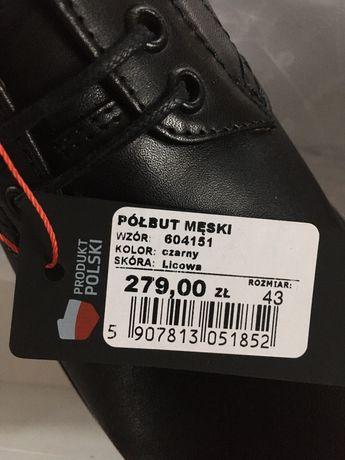 Wojas buty skóra licowa r. 43
