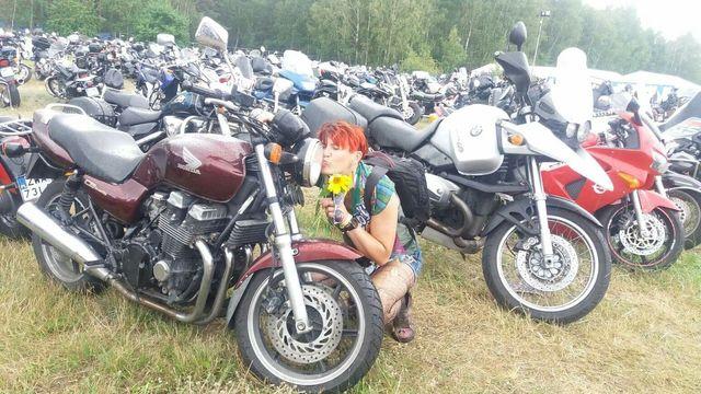 Motocykl Honda Cb750 seven fifty