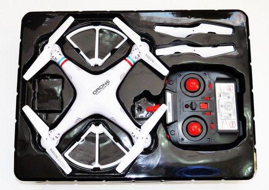 Квадрокоптер (HD 720p, 6-ть осей) / 1000000 / Камера - (радиус 100 м)