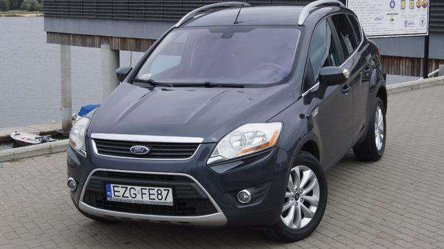 Ford Kuga 2.0 TDCI 136 KM 4x4 TITANIUM Salon PL FV 23% Bezwypadkowa !