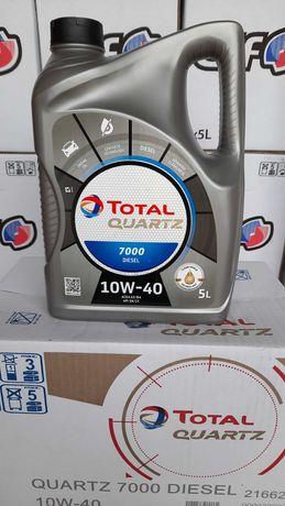 Масло моторное полусинтетическое Total Quartz Diesel 7000 10W-40 5L