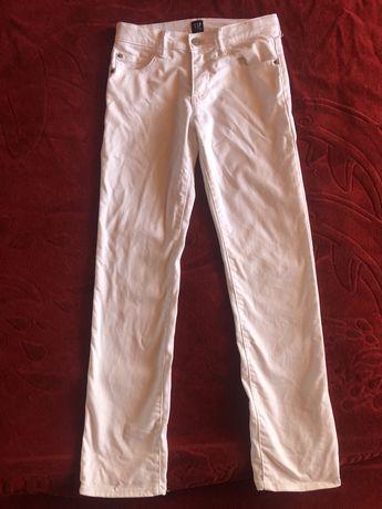 Брюки джинсы фирмы Gap белые штаны скинни