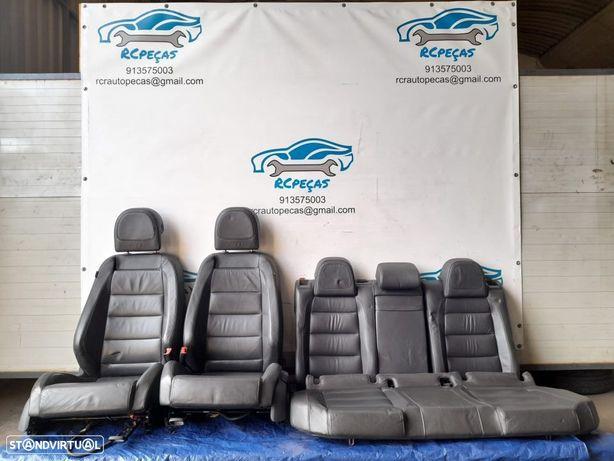 CONJUNTO DE BANCOS EM PELE FRONTAIS / TRASEIROS COM AIRBAG ORIGINAIS   VW VOLKSWAGEN GOLF V / 5 GTI;