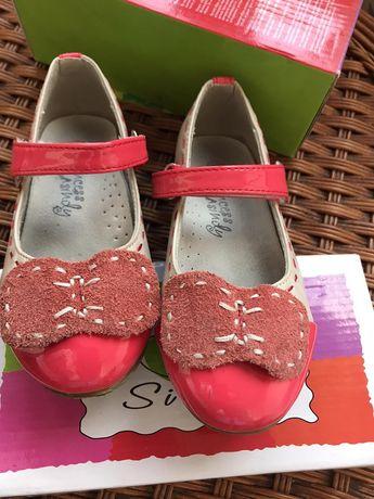 Туфли лак и кожа, как новые . Размер 28.