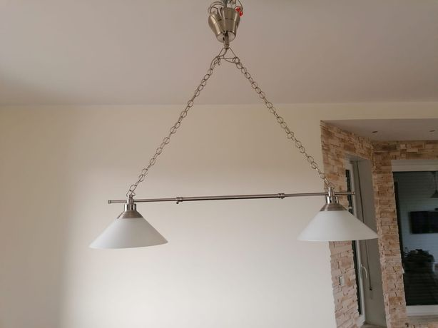 Lampa wisząca podwójna