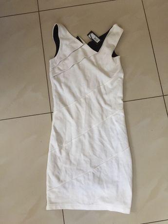 biala sukienka  mini Mohito