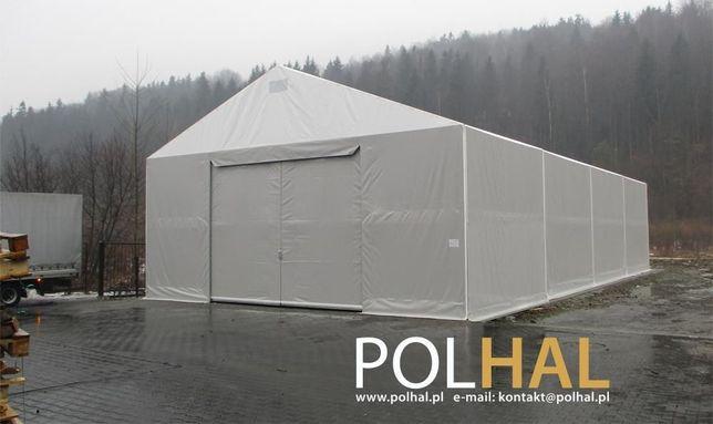 Hala Namiotowa, Namiot Magazynowy 11.0m x 20.0m wysokość ściany 4m
