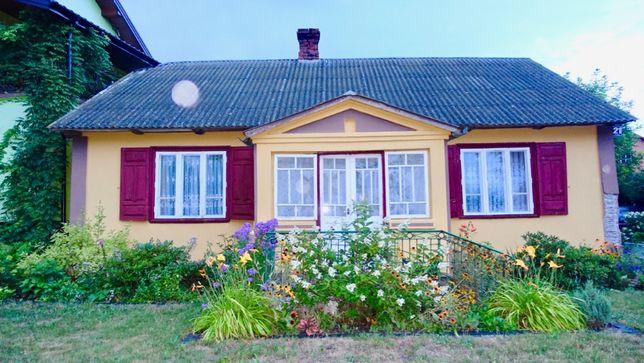 Drewniany dom z bali ( do przeniesienia/ rozbiórki)