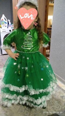Платье ёлочка в аренду