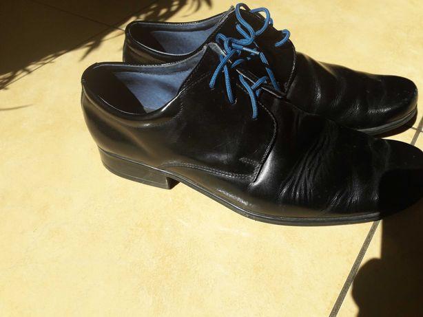 Skórzane buty komunia , bierzmowanie