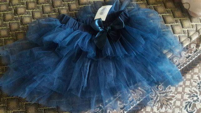 Фатиновая (органза)юбка- пачка , юпка на малышку 4 лет