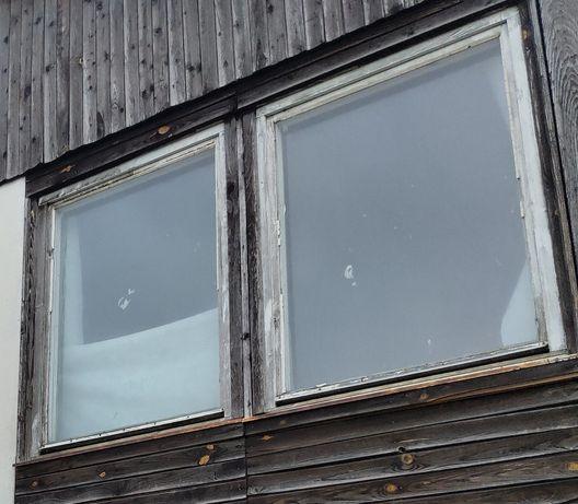 Okna,  szyby hartowane  100x130