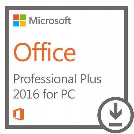Microsoft Office 2016/2019 Pro Plus PL