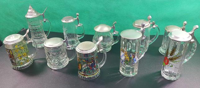 Kufle do piwa Bawarskie kolekcja okazja 10 sztuk inwestycja