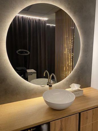 Круглое Зеркало с LED лед подсветкой много разных моделей
