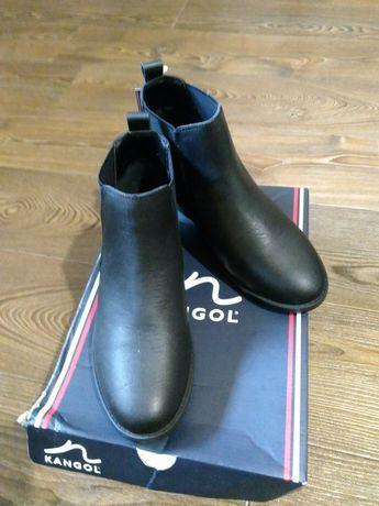 Кожаные ботинки Kangol 38р
