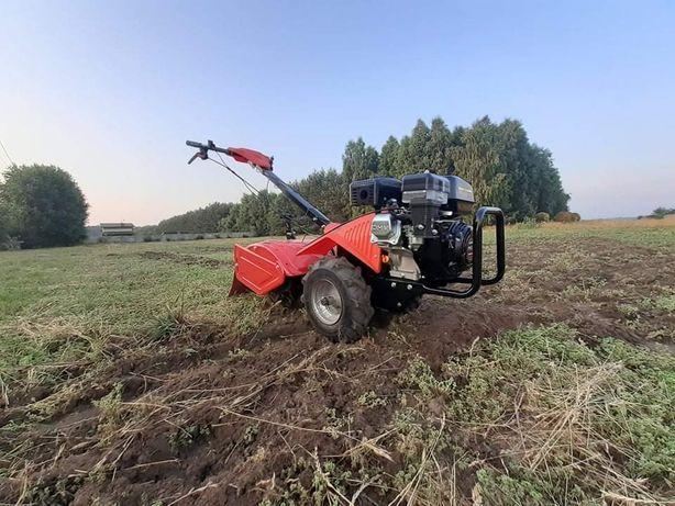 Wynajem glebogryzarki dom ogród ziemia praca loncin spalinowa gleba