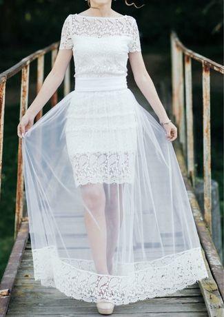 Плаття трансформер весільне вечірнє