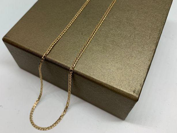 Złoty łańcuszek p585 52,2cm