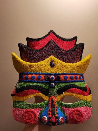 Máscara coreana rei Wang, carnaval, chuseok, halloween
