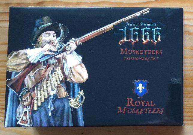 Anno Domini 1666 Królewscy Muszkieterzy gra planszowa dodatek PL