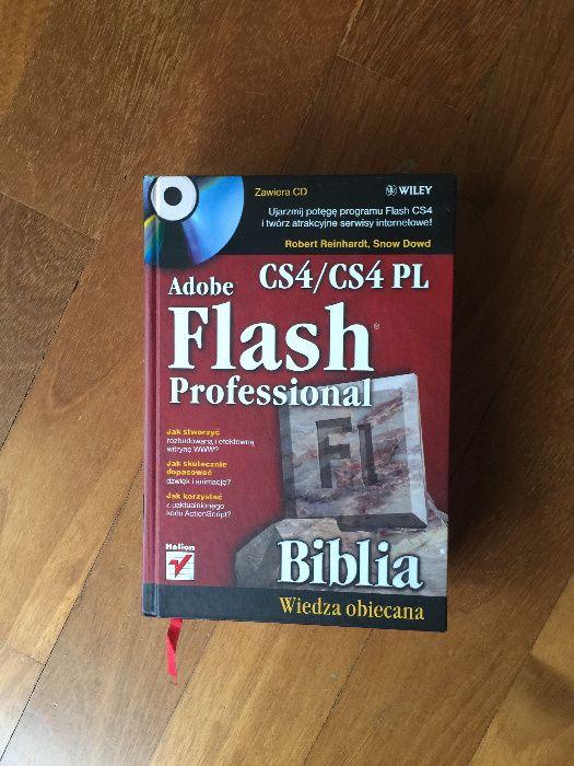 książka adobe flash professional CS4 jak nowa