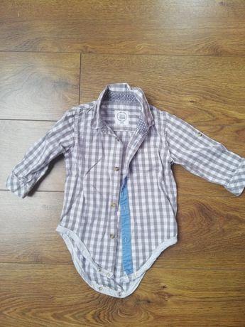 Body koszulowe chłopięce rozmiar 74