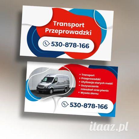 Usługi transportowe / przeprowadzki na terenie województw śląskie oraz