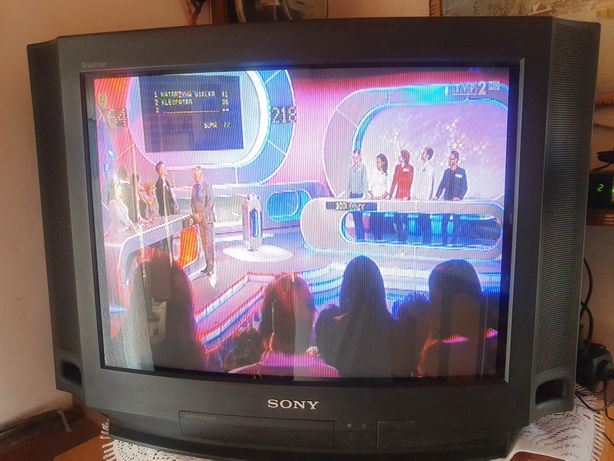 TV SONY 21 CALI + Dekoder DVB-T Ferguson Ariva T65