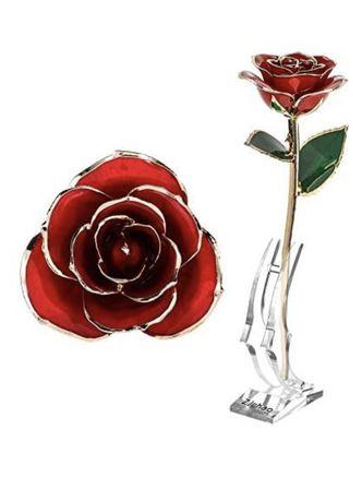 Позалоченая роза 24К