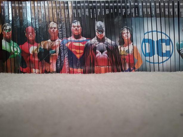 Komiksy z kolekcji WKKDC folia paczkomat komiks DC comics Batman
