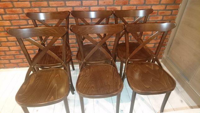 NOWE Krzesła krzyżakowe