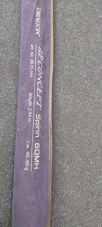 Спиннинг Dragon G.P. Concept Spinn, 2,44 м, 40-60 г