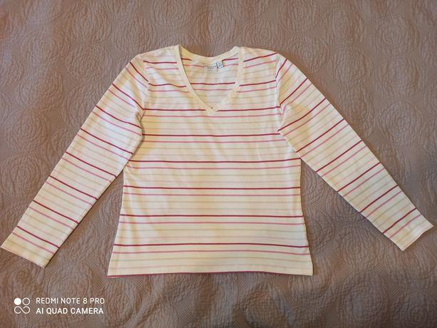 Bluzka bawełniana w paski Sonoma r. XL