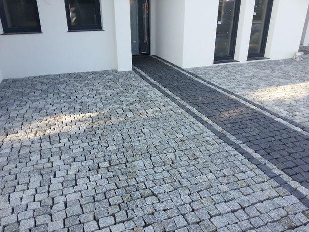 Kostka granitowa czarna szwed, vanga - Warszawa