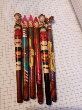 Деревянные ручки .