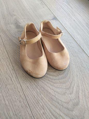 Шкіряні туфельки Zara