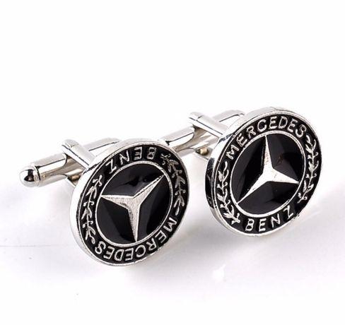 Spinki do mankietów Mercedes - nowe