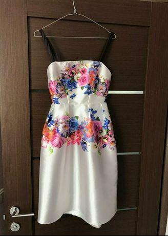 Волшебное коктейльное платье сукня эксклюзив asos hope & ivy zara