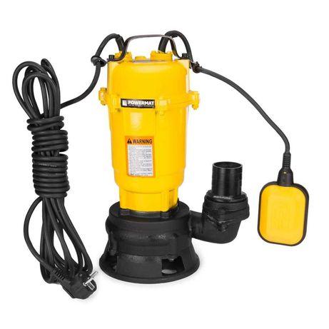 Pompa do Wody Szamba z Rozdrabniaczem Pływak 750W Mulczer