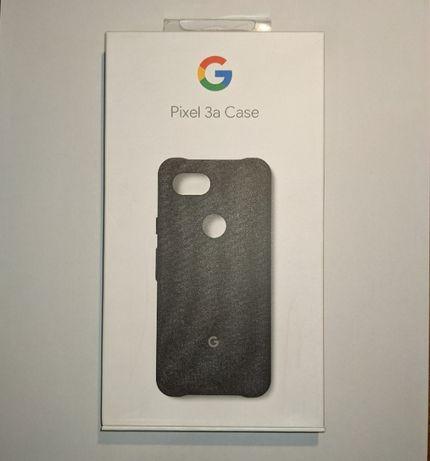 Capa para Google Pixel 3a Original Tecido Preta