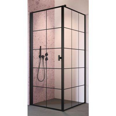 Radaway Nes Black KDJ I Factory drzwi prysznicowe 100 cm lewe