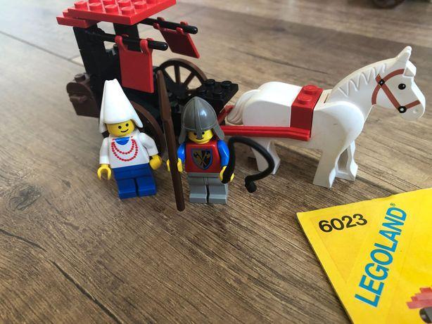 Lego 6023 Maiden's Cart rycerze lion knights crusader
