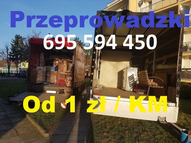 Przeprowadzki / Transport - LOKALNE / ZAGRANICZNE - Bus / Ciężarówka