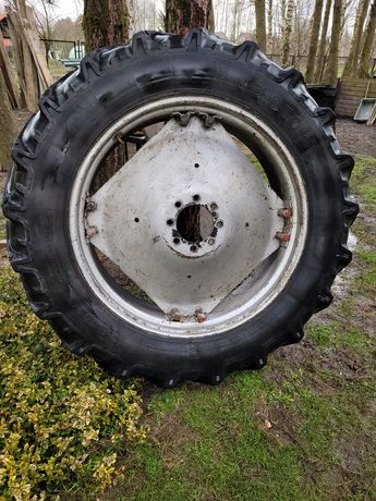 Opony koła felgi traktora mf-4 stomil 5314 wąskie 13,6 36 ursus 4514