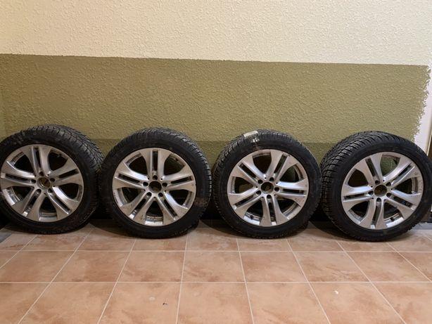Продам оригинальные диски Mercedes r17 с резиной