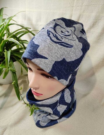 Распродажа стильные комплекты шапочка и снуд